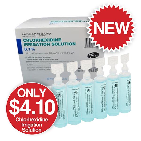 Chlorhexidine Irrigation Solution
