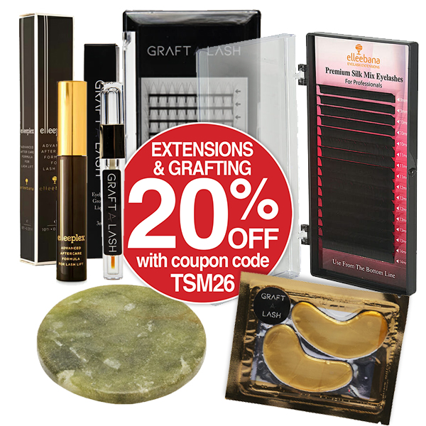20% OFF EXTENSIONS & GRAFTING WITH COUPON