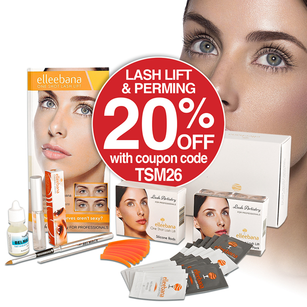 20% OFF LASH LIFT & PERMING WITH COUPON