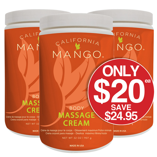 CALIFORNIA MANGO MASSAGE CREAM 907gm Just $20 Save $24.95