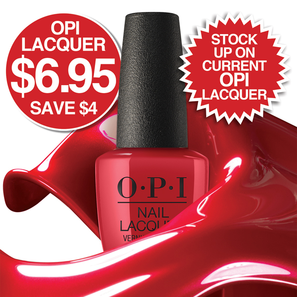 OPI Lacquer SAVE $4