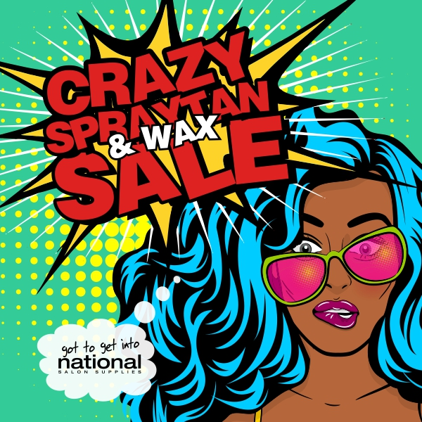 Crazy Spraytan & Wax Sale